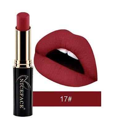 Kettchen Neuer matter flüssiger wasserdichter, flüssiger wasserdichter Lippenstift, glatter Lippenstift, 24 Farben (17#)