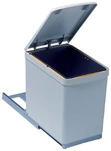 G n rique poubelle coulissante monobac 16 litres - Poubelle de cuisine coulissante monobac ...