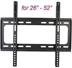 LED/LCD / PDP Flat Panel TV Wall Mount | Black Color - 26-52 inch