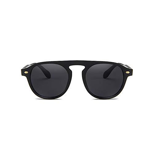 LKSDD Europa und die vereinigten Staaten persönlichkeit Marine Film Sonnenbrille männer und Frauen Brille Flut Sonnenbrille Single Beam Retro,2