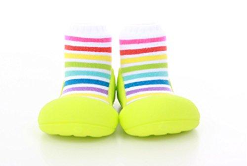 Attipas , {Chaussures premiers pas pour bébé (garçon) Multicolore Multicolore 21.5 Pistacho/Multicolor