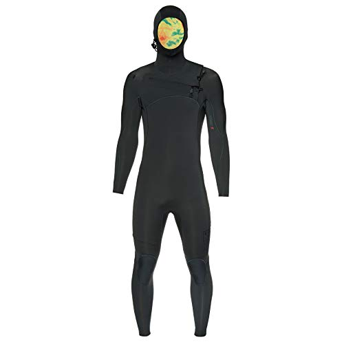 XCEL Comp X 4.5/3.5mm 2019 Chest Zip Hooded Wetsuit Large Tall Graphite