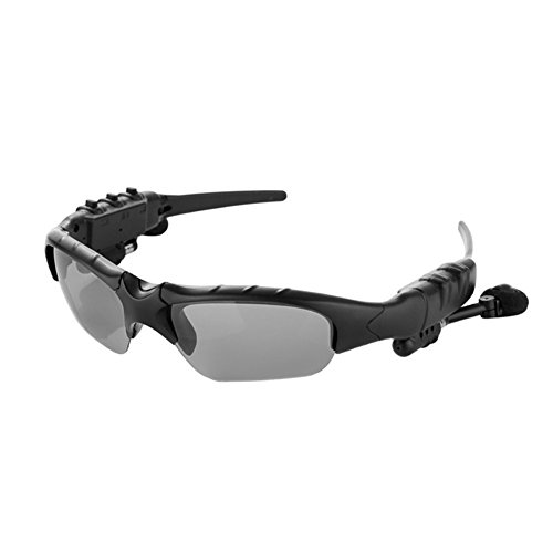 ROKOO Smart Gläser Bluetooth Kopfhörer Sonnenbrille Wireless Stereo für Sport Outdoor, Polarized Light
