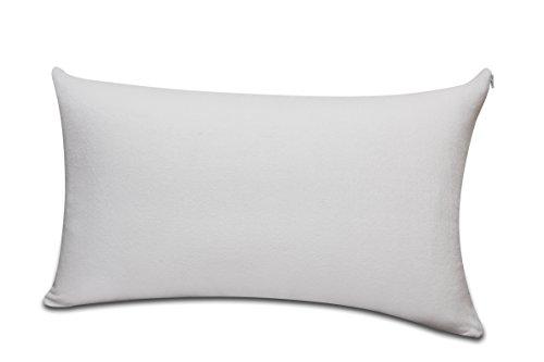 Double Down Zip (Sunlay - Kissenbezug, , Frottee contra-allergen, schneller Feuchtigkeitstransport und atemaktiv, 50 x 75 cm)