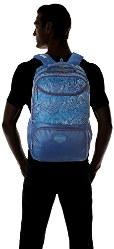 Best american tourister backpack in India 2020 American Tourister Turf 32 Ltrs Blue Casual Backpack (FF0 (0) 01 001) Image 8