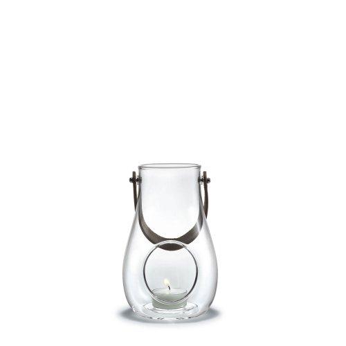 Holmegaard DWL Laterne, Glas, klar, 16 cm -