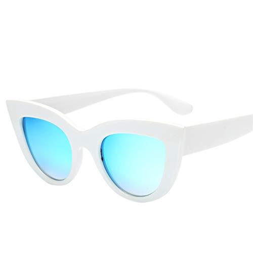 EUCoo Damen Sonnenbrillen Mode Sonnenbrillen Katzenaugen Sonnenbrillen Reise Brillen(A)