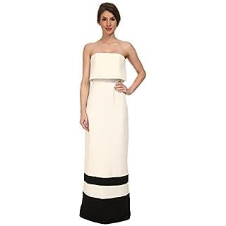 A B S BY ALLEN SCHWARTZ Women's Strapless Gown W/Stripe Hem