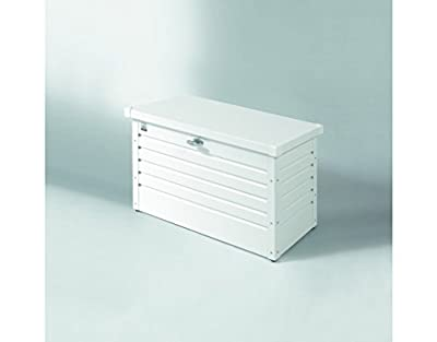 Kleine Freizeittruhe, weiß, H60 x B100 x T45 cm - (61010) von Biohort Gartengeräte GmbH bei Du und dein Garten