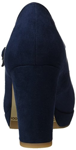 s.Oliver 24411, Escarpins Femme Bleu (NAVY 805)