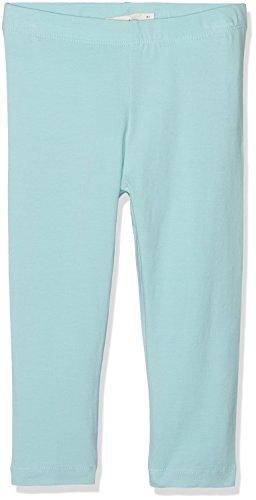 NAME IT Mädchen Hose Nitvivianjas Solid Capri Legging Nmt, Blau (Aqua Haze), Gr. 116 (Leggings Print Capri)