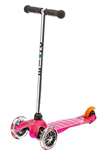Micro Scooters Childrens Scooter with T-bar Handle, Pink