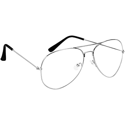 Sheomy Boy's Girl's Men's & Women's Reading Eye Glasses Spectacle Frame Combo(Selfy Round Transparent Wayfarer1| | Clear)