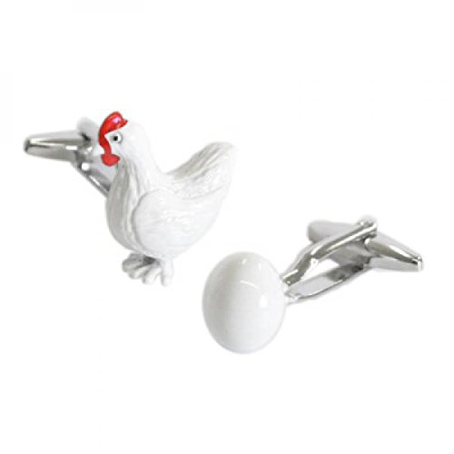 white-chicken-and-egg-themed-cufflinks-hen-farm-farmer-cuff-links-giftset-new