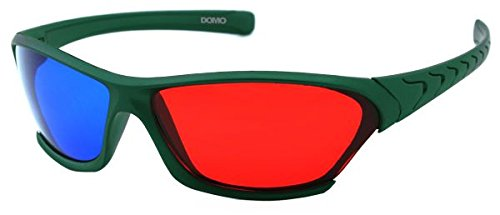 Domo Nhance RB560P Anaglyph Passive Red And Blue 3D Glasses
