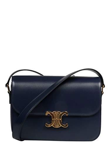 Céline Luxury Fashion Donna 187363BF407BF Blu Borsa A Spalla | Primavera Estate 19