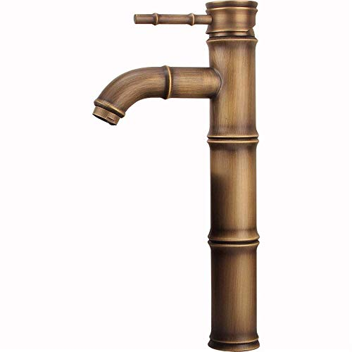 ntal Copper Alte Wasserhahn Pan Wasserhahn Kaltes und Heißes Wasser Erhöhen Einlochmontage Einzelhandstand Topf Wasserhahn Bad Tank Wasserhahn ()