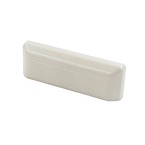 B H rectangular Agua-Tapas ranura Blanco RAL 9010para