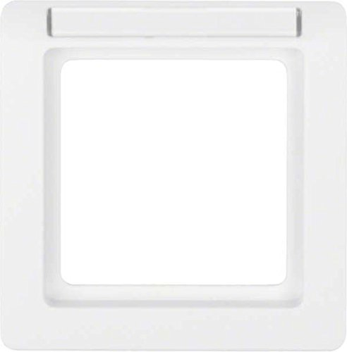 Price comparison product image Hager Q.1–Frame 1Element with ROTULO Polar White