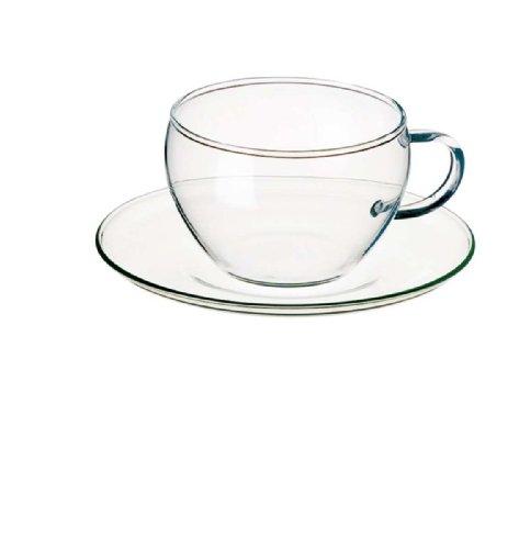 Bohemia Cristal 093/006/011 Eva - Juego de tazas de café (4 piezas, 2