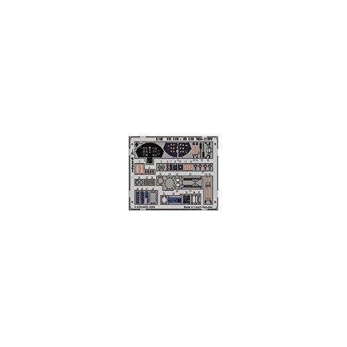 Eduard Accessories fe44930502000Mig de 17pf Self Adhesive para Hobby Boss Montar