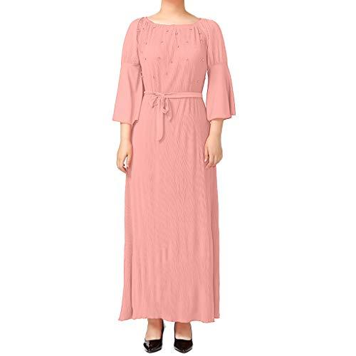 FeiBeauty Frauen Muslimische Kleider Feste Schals Arabien Islamische Gebet Kleid Muslimische Kleidung Hijab Kleider Frauen Muslim Bat\'s-Flügelhülsen Kleid Hijab