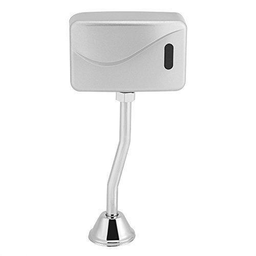 Infrarot Sensor Urinal Spülventil Urinal Spüler Automatische batteriebetriebene betriebene Wasser Einsparung Geräte Toilette Teile DC 6V für Badezimmer Toilette Flusher Armaturen WC (Wasser-absperrventil Automatische)