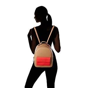 31WhDSVgArL. SS300  - TOUS Mochila Essence Rojo, Bolso Mujer, Marrón (Marrón), 25x31x12 cm (W x H x L)