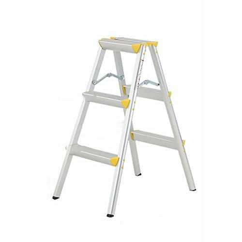 Tritthocker, Einfache Gelbe Aluminiumlegierung der europäischen Art, Leiter 2, 3, 4-stufiger Stuhl...