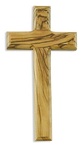 Kruzifix Kreuz Olivenholz aus Jerusalem Wanddekoration 30 cm