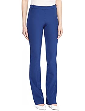 Pinko Pantalones Mujer, 44, Blu Fondo Mare