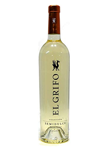 Vino Blanco Malvasía Semidulce Colección 2018 75cl El Grifo Lanzarote