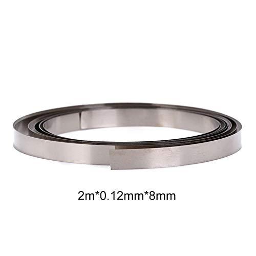 Reinnickelstreifen 8mm - 0,15x8mm Nickel Für 18650-Punktschweißen Von Batterien, Li-Po-Batterien, NiMh- Und NiCd-Akkus Und Punktschweißen Tabs Nicd