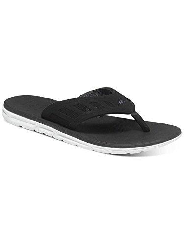 Quiksilver Sandals - Quiksilver Ag47 Flux M Sndl Xbks Sandals - Blue/black/grey Schwarz