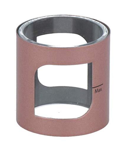 Aspire PockeX Glastank mit 2 ml Tankvolumen - geeignet für das Aspire PockeX E-Zigaretten Set - Farbe: rosegold