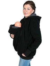 Pagacat Porte-bébé à Capuche Sweat Shirt Kangourou Décontracté pour Femme Veste  Maternité 653e59dc4f3