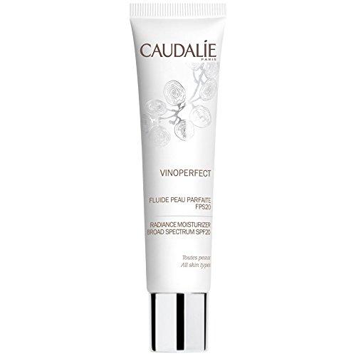 Caudalie Feuchtigkeitscreme Gesicht (Caudalie Vinoperfect Glanz Feuchtigkeitscreme Spf20 40Ml Breites Spektrum (Packung mit 4))
