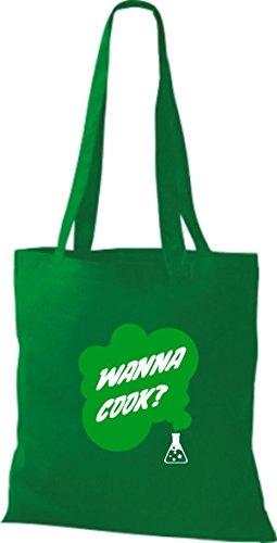 Borsa In Cotone Tote Bag In Cotone Provetta Per Provetta Per Cucina Colore Rosa Kelly
