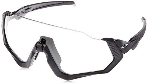 Oakley Unisex-Erwachsene Flight Jacket OO9401 Sonnenbrille, Schwarz (negro), 0