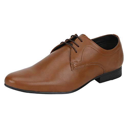 Bond Street by (Red Tape) Men's BSS0883 Tan Formal Shoes-9 UK/India (43...