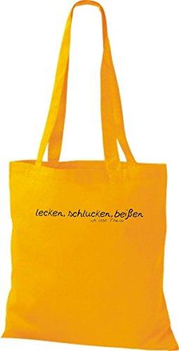 Shirtstown, Borsa tote donna gelb