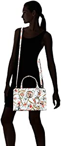 Guess - Gioia, Shoppers y bolsos de hombro Mujer, Multicolor (Blue Floral/Blf), 30x20x14 cm (W x H L) de Guess