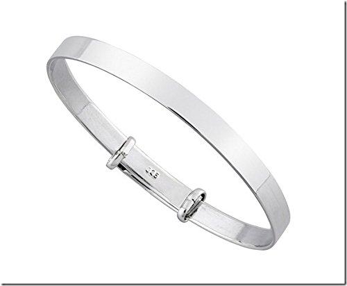 925-sterling-silver-plain-christening-gift-baby-bracelet-perfect-baby-shower-gift
