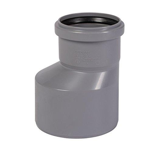 HT Reduziermuffe DN 110/75 lang Rohr Reduzierung Übergangsrohr Reduzierstück