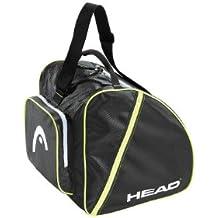 HEAD Boot - Bolsa para botas de esquí, color negro / blanco / amarillo neón, talla Talla única