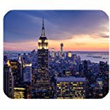 Preisvergleich Produktbild Bequem New York City Skyline, rechteckig, Rutschfeste Gummi Mousepad Gaming-Maus-Pad, Office Mousepads, Desktop-Mousepad