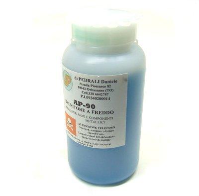 AP Brunitore a bagno 90 250 ml per brunire nero parti metalliche