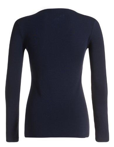 ESPRIT Maternity Sweatshirt  Col ras du cou Manches longues Femme Bleu - Blau (Space Blue 461)