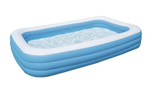 Schwimmbecken aufblasbar - Bestway - Blue Rectangular