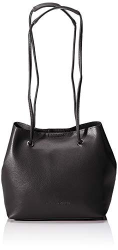TOM TAILOR Umhängetasche Damen Aurelie, Schwarz (Schwarz), 25x22x17.5 cm TOM TAILOR Handtaschen Damen, Taschen für Damen, Beutel